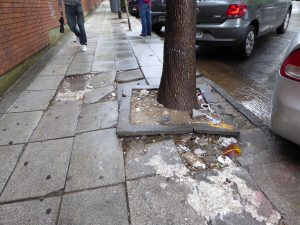Terrible pavement condition