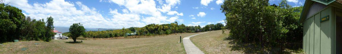 A loo with a view – on Tiritiri Matangi Island
